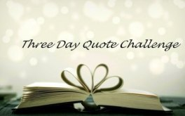 Image result for Three day quote challenge