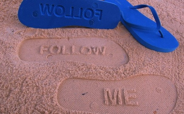 Follow me [and my blog] :)