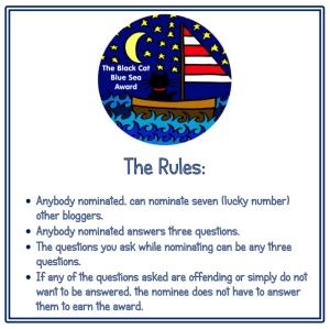 Black Cat Blue Sea Award Rules