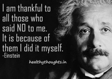 Albert Einstein Quote Today
