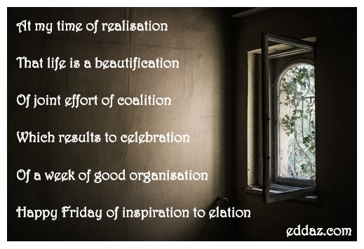 Friday of Inspiration