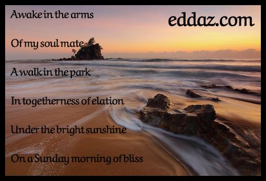 Sunday Morning of Bliss